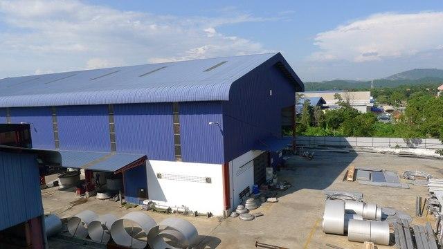pressure vessels factory